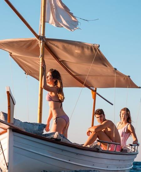 Ropa de baño para salida en barco con Koalabay
