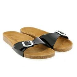 Sandalias bio terral negro