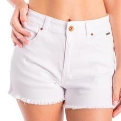 Short Charlotte blanco