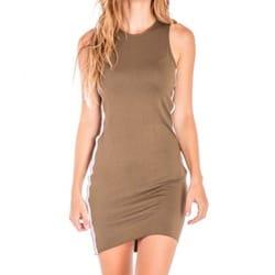 Vestido amber marrón