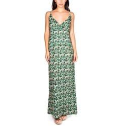 Vestido loira verde