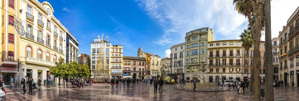 Zonas de España cálidas como Málaga