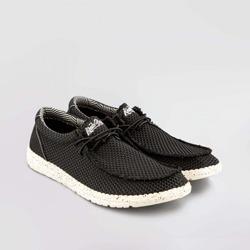 Zapato Wallabee Wallance Negro